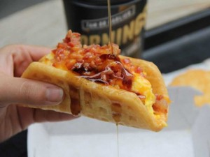 Waffletaco = more health problems = more Nursing Assistants needed