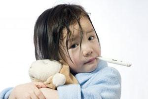 sick toddler