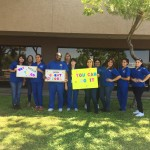 Phoenix medical assistant internship class celebration