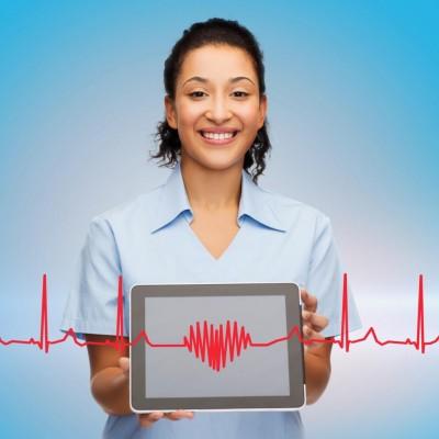 Heartbeat EKG Love Healthcare