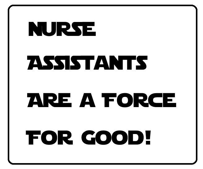 Nurse Assistant Training - A Force for Good