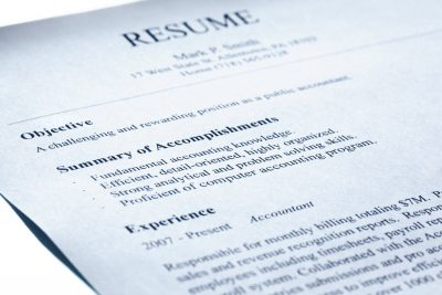 Medical Billing Job Interview: Bring Copies of your Resume