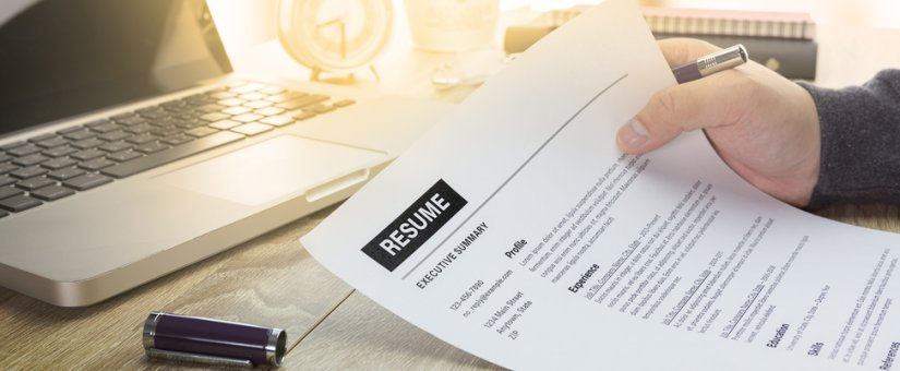 Resume tips for recent healthcare grads