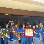 Medical Assistants celebrate outside of our Phoenix AZ campus